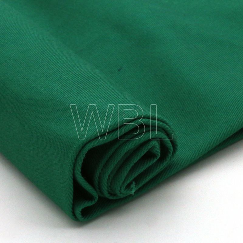 solid dyed T/C workwear uniform twill woven fabric 280gsm for garment