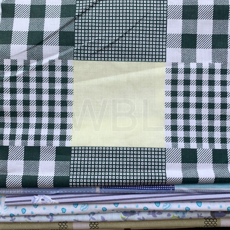 bed sheets cotton bedding fabric use for school bed